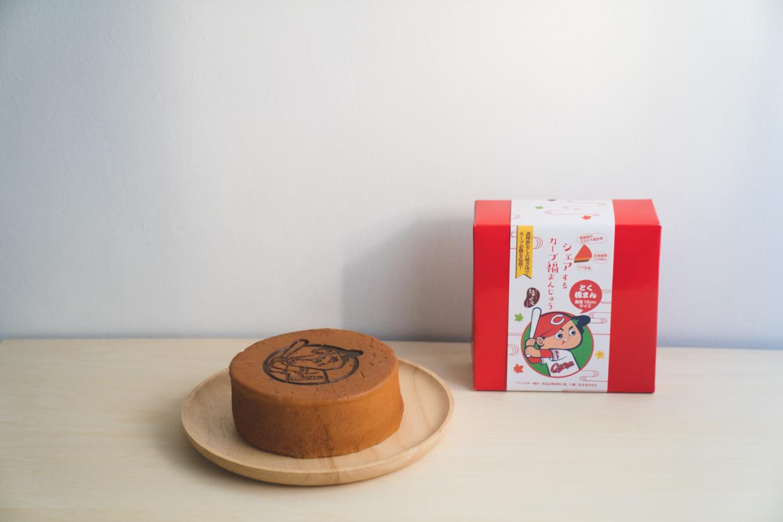 シェアするカープ福まんじゅう(焼き菓子) 直径15cm