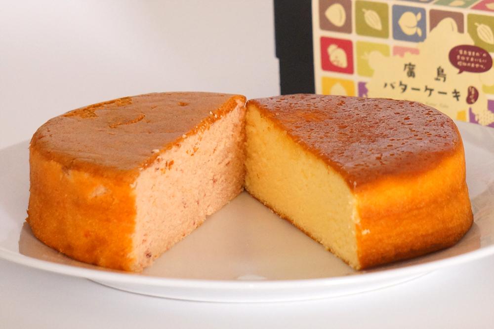 廣島バターケーキ ハーフ&ハーフ(宮島はちみつ&高野いちご)